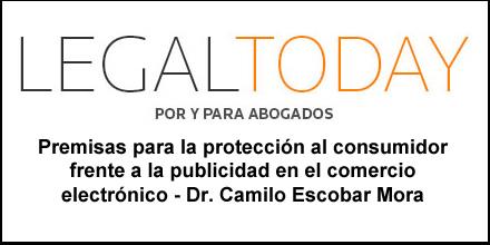 Columna de nuestro Fundador en el periódico Legal Today